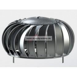 Ventilačná turbína LOMANCO TIB 12 samostatná hlavica Al prírodná