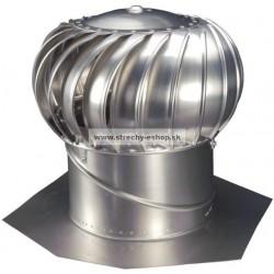 Ventilačná turbína LOMANCO BIB 12 komplet Al prírodná