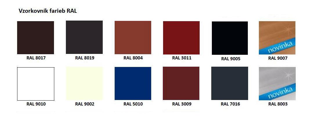 Vzorkovnik farieb RAL