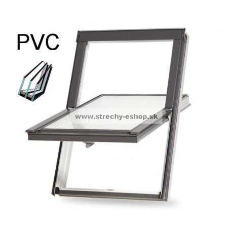 RoofLITE+ strešné okno TRIO PVC