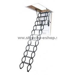 Podkrovné nožnicové schody FAKRO LST
