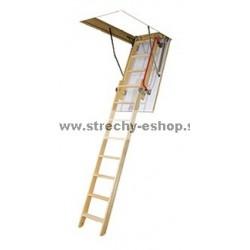 FAKRO Výsuvné segmentové podkrovné schody LDK