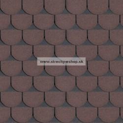 Asfaltové šindle Standard Rock Bobrovka +