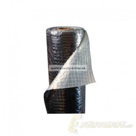 Hliníková parotesná fólia s reflexnou vrstvou REFLEX 140 g/m2, bal. 75 m2