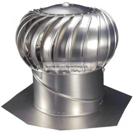 Ventilačná turbína LOMANCO BIB 14 komplet Al prírodná