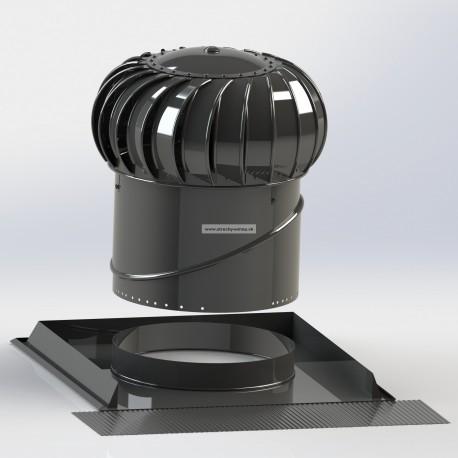 Ventilačná turbína LOMANCO BIB 12C SET pre šikmé strechy