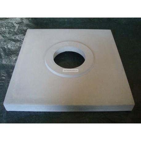 Komínová krycia doska 710x710x55mm pr.200mm