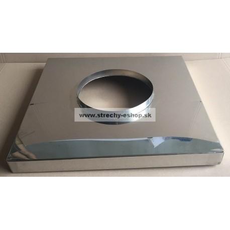 Komínová krycia doska nerezová 500x500x50mm pr.250mm