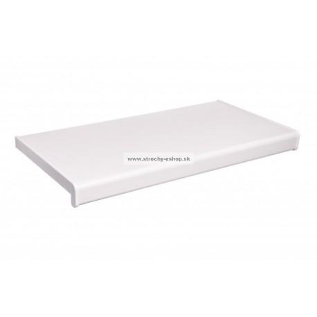 Vnútorné parapety PVC Rehau biele