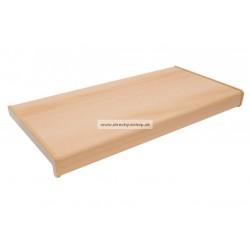 Vnútorné parapety PVC Rehau buk